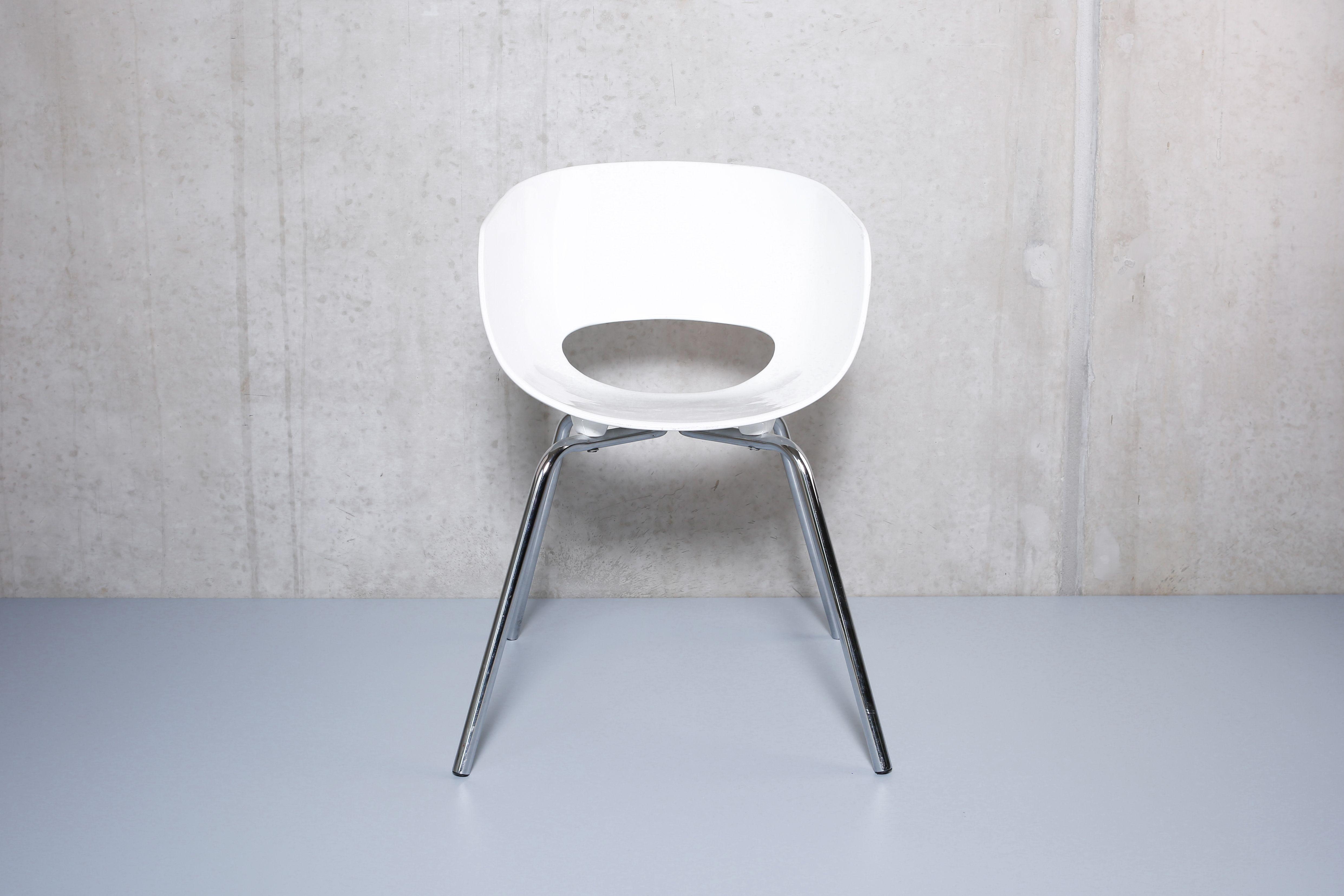 Kunststoff Chrom Stuhl Stuhle Stuhl Design Tisch Und Stuhle