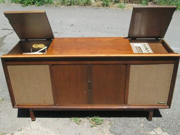 mid century stereo console  Google Search  Mid Century