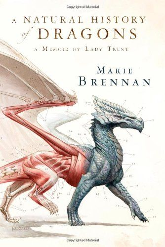 A Natural History of Dragons: A Memoir by Lady Trent by Marie Brennan http://www.amazon.com/dp/0765331969/ref=cm_sw_r_pi_dp_K7ZQub0E6THHP