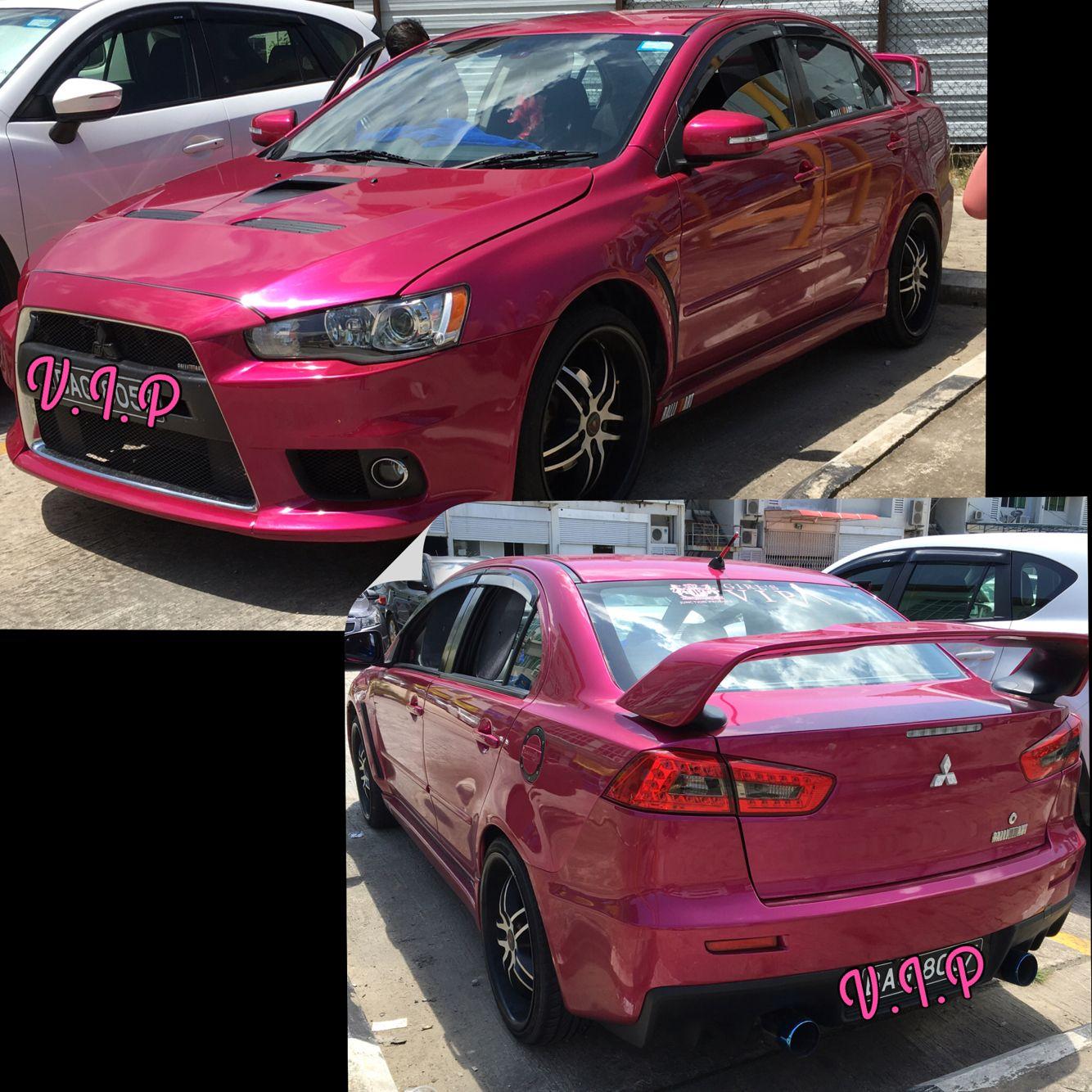 My Pink Mitsubishi Lancer Ex Gt My Ride Mitsubishilancerex Lancerex Mitsubishi Pinknation Pinkaholic Pink Mitsubishi Lancer Lancer Dream Cars
