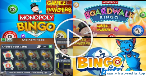 Monopoly Bingo Mobile/Tablet/iphone/ipad Game First