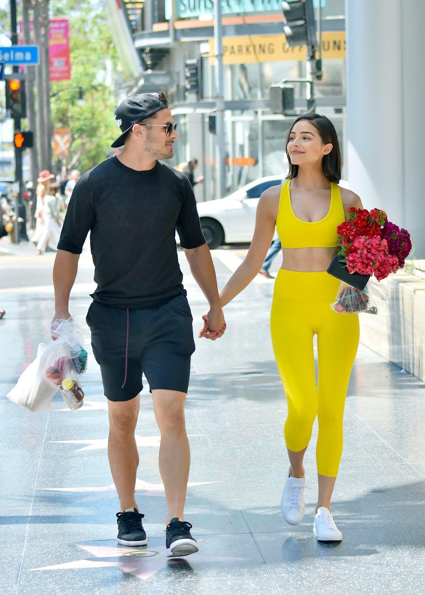 Olivia Culpo And Danny Amendola Streetstyle Celebrity Street Style Olivia Culpo Street Style