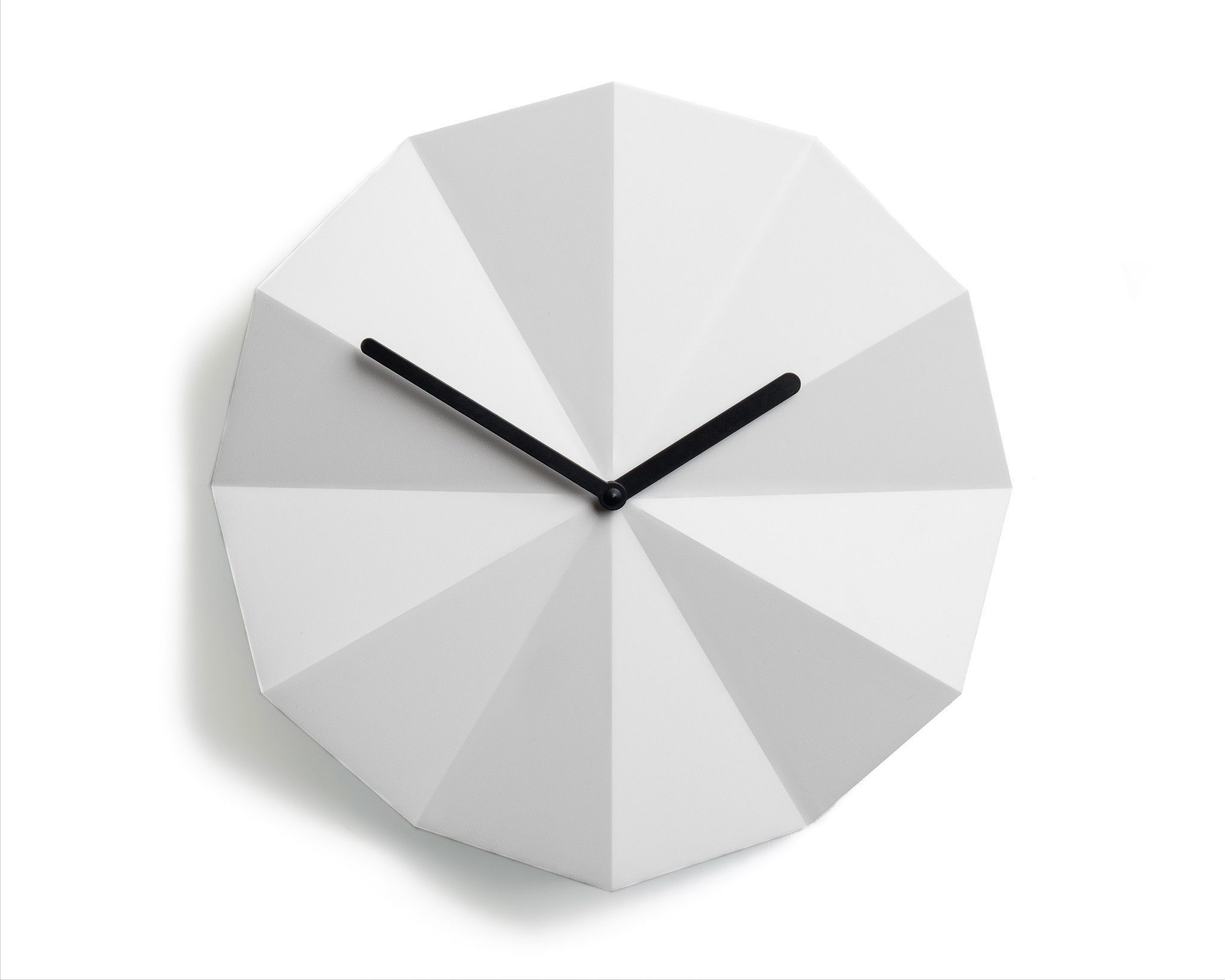 Modern Danish Design Wall Clock By Lawa Design 11 Inch White Wall Clock Clock Black Wall Clock