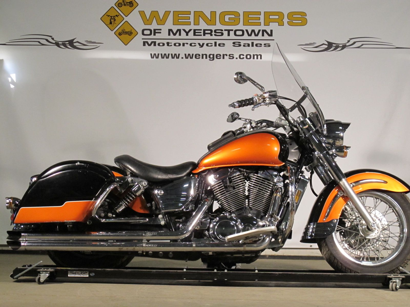 2002 honda shadow aero 1100 for sale at wengers of myerstown motorcycle sales only 4 799 sold [ 1600 x 1200 Pixel ]