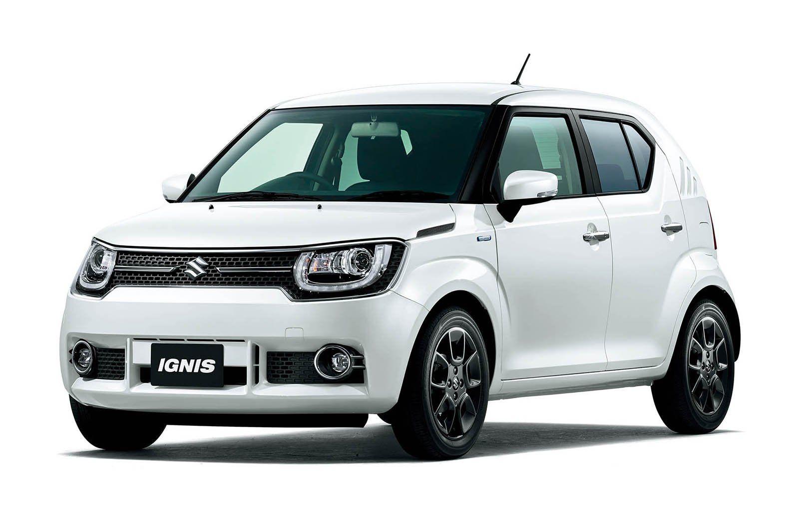 Suzuki Presenteert Productieversie Van Nieuwe Ignis Maruti