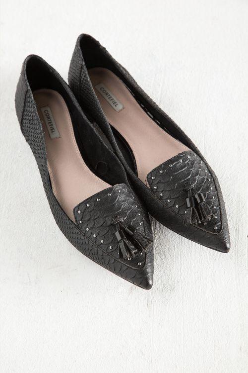 ZAPATO CON BORLAS » Zapatos » Mujer » Cortefiel | Zapatos