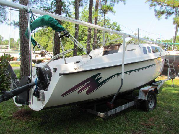 1993 Hunter 23 5 Sail Boat For Sale - www yachtworld com