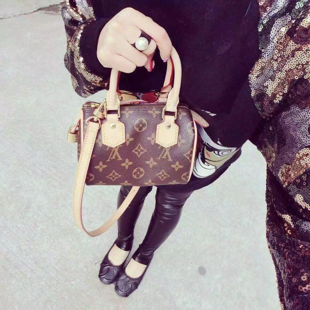 1a66a0ea6259 Louis Vuitton Mini Speedy Bag Louis Vuitton bag, сумки модные брендовые, LV  handbags