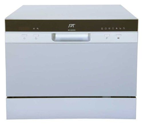 Spt 22 Tabletop Portable Dishwasher Silver Larger Front
