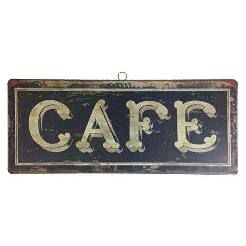 Vintage French Bistro Hanging Tin Sign 14 In Cafe