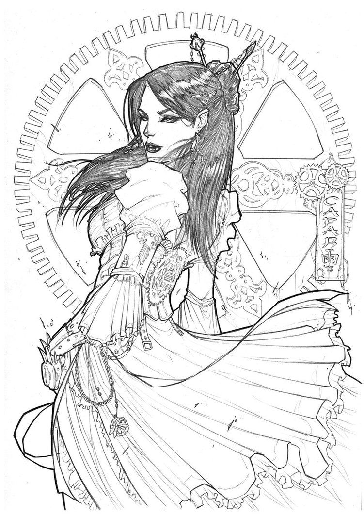 Steam by Giuseppe-Cafaro on DeviantArt | Adult Coloring Pages ...