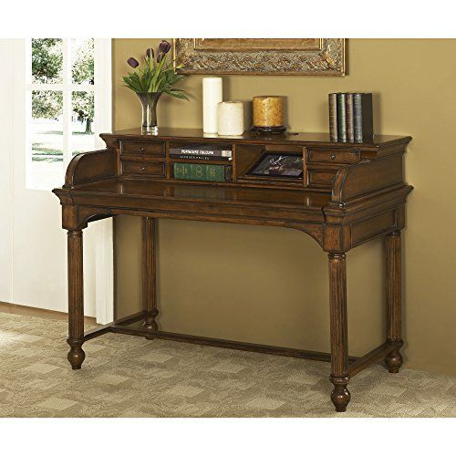 Turnkey Products LLC Austin Cherry Wood/Veneer 48-inch Writing Desk