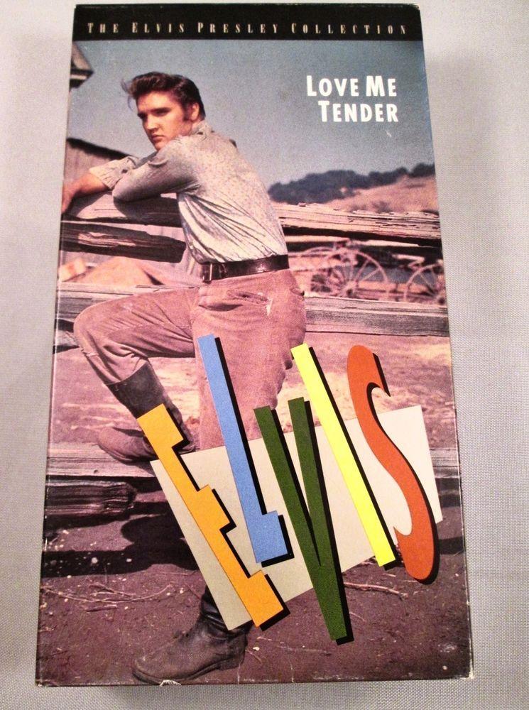 Love Me Tender (VHS, 1992) Elvis Presley 1956 Film Movie b/w Music Video $9.99 #ElvisMovies#ElvisFilm#LoveMeTender#freeshipping