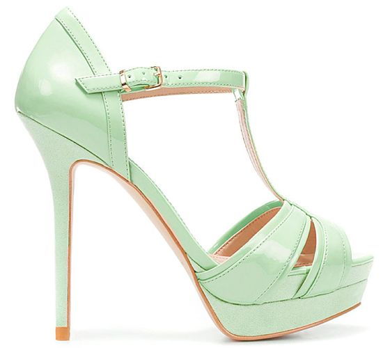 Pretty Pastel Shoes For Your Wedding Day | Mint green shoes, Green ...