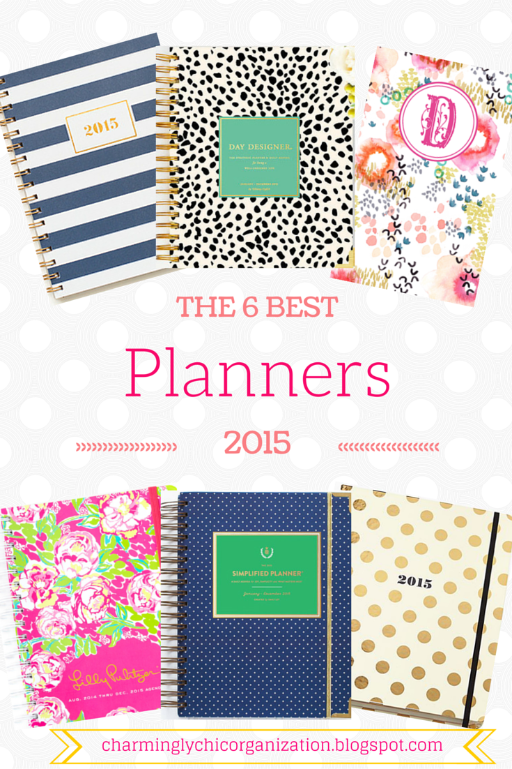 charmingly chic organization the 6 best planners for 2015 so adorable and practical youll want to leave your smartphone calendar for a beautiful agenda