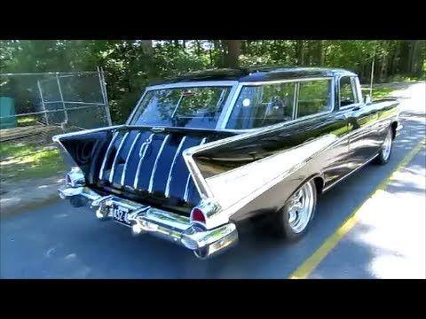 1957 Chevrolet Nomad Restomod Hot Rod 350 V8 700r4 Disc Brakes