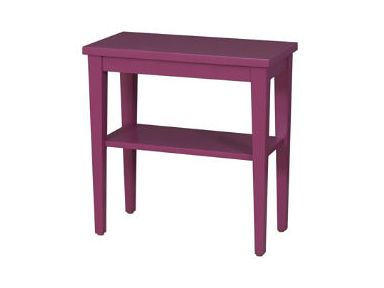 Lorts Manufacturing Living Room Rectangular Chairside Table 3681 At