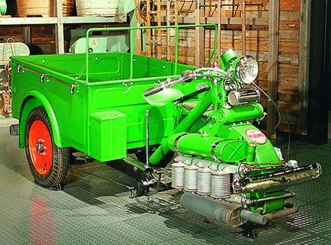 トヨタ博物館|水野式自動三輪車