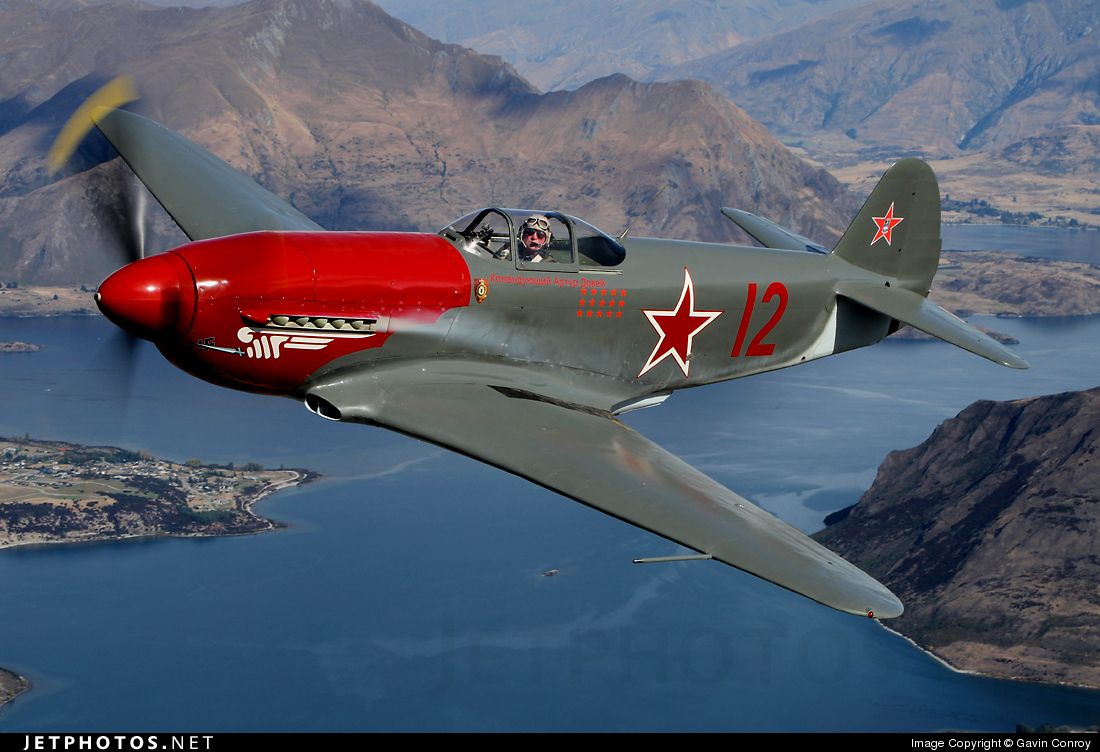 The Yakovlev Yak-3 (Russian language: Я́ковлев Як-3) was a World War II Soviet fighter aircraft. Robust and easy to maintain, it was much liked by pilots and ground crew alike. It was one of the smallest and lightest major combat fighters fielded by any combatant during the war, and its high power-to-weight ratio gave it excellent performance.
