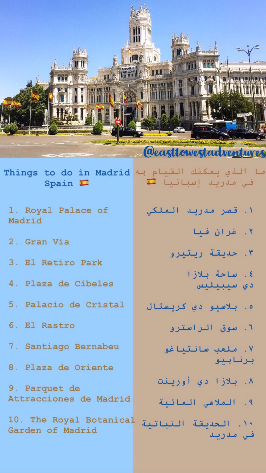 Barcelona And Madrid Spains Two Cities Barcelona Park