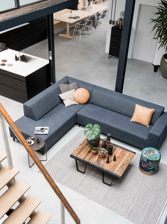 Moderne Strakke Design Bank.Zitbank Max Moderne Bank Appartement Inrichting Zitbank