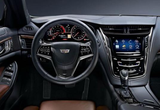 Great 2017 Cadillac CTS V Interior