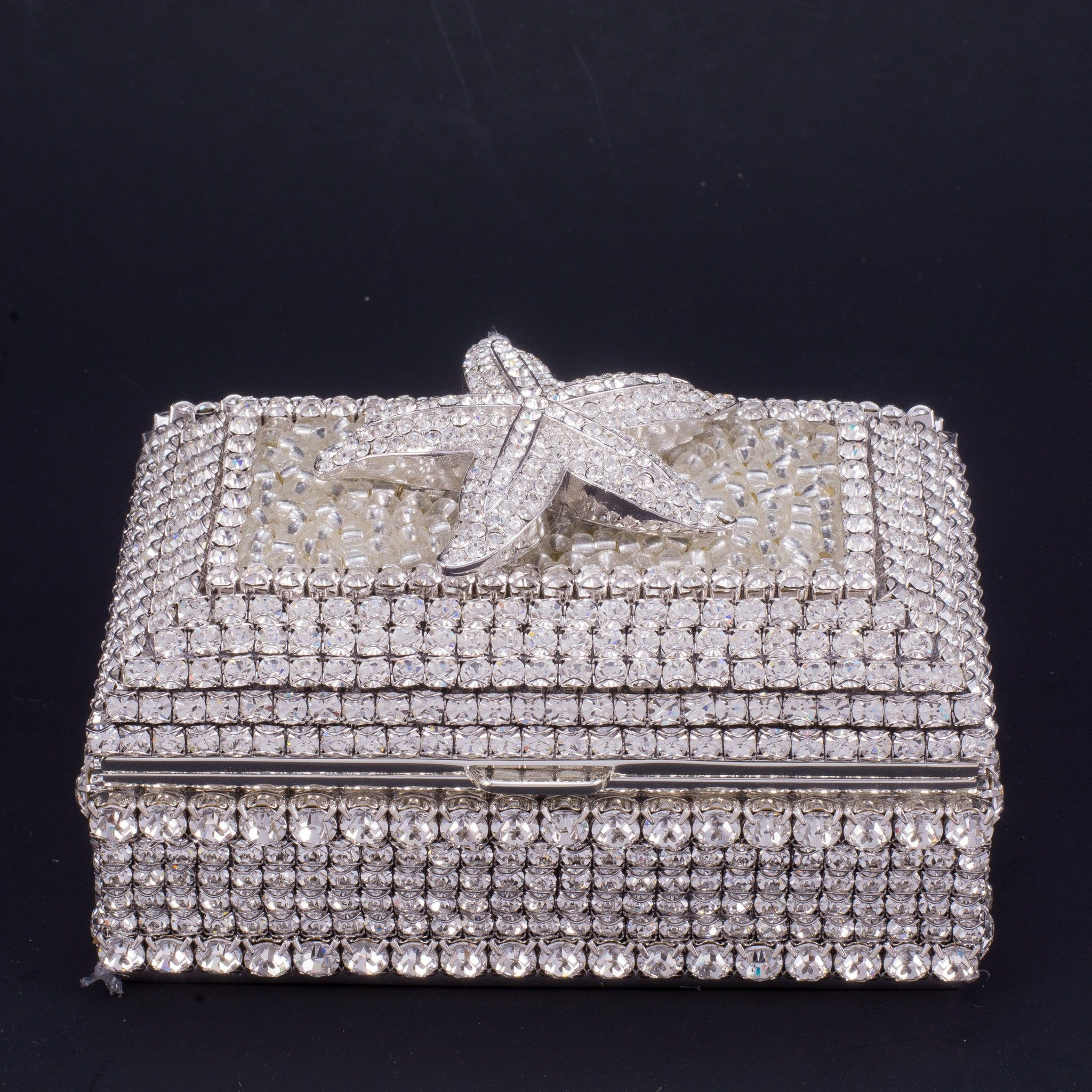 Starfish Keepsake Box Featuring Swarovski Crystals Starfish