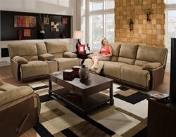 Amazing Clayton 2 Piece Reclining Sofa Loveseat Set In Two Toned Dailytribune Chair Design For Home Dailytribuneorg