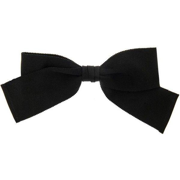 grosgrain bow tie - Black Saint Laurent tcDVZRma