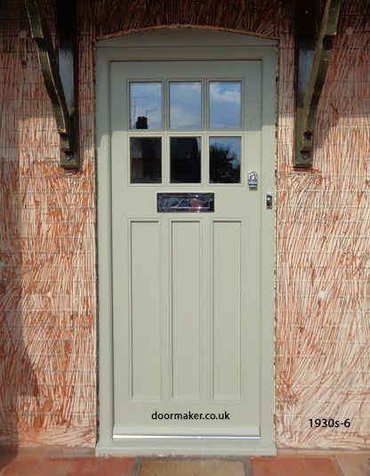 1930sfrontdoor 1930s 6 front doors pinterest french for 1930s external door