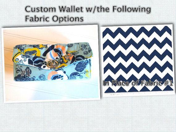 Custom Ladies Wallet  Bifold Wallet  Wallet  by PreciousLittleTot, $59.99