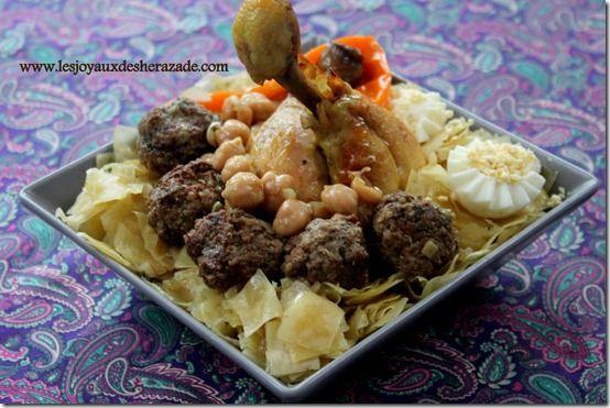 trida, mkartfa, cuisine algérienne | recipe | cuisine