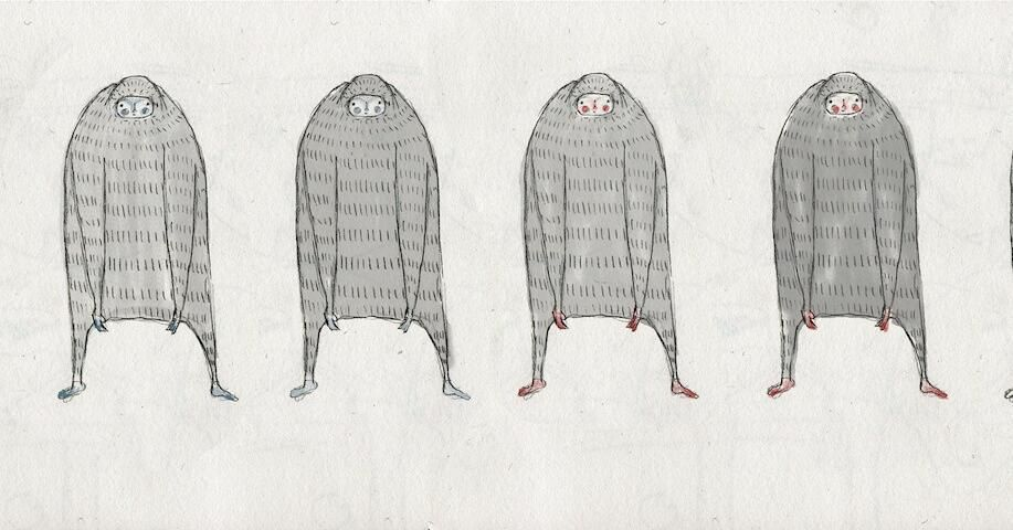Colour Ideas For Nanook Stopmotion Animation Characterdesign Yeti Puppet Drawing Sketch Character Design Stop Motion Drawings