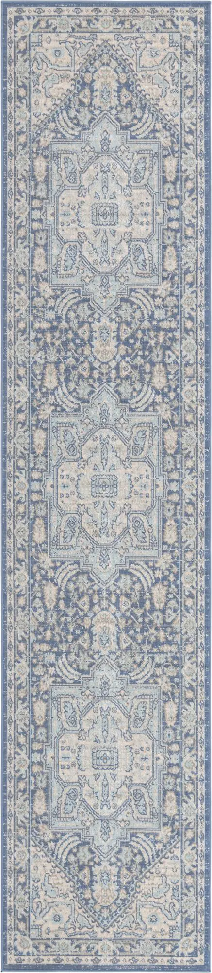 French Blue 2 7 X 12 Whitney Runner Rug Rugs Com In 2020 Rugs Rugs Com Rug Runner