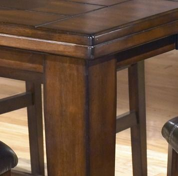 Larchmont Square/Rectangular Counter Height Leg Table   Ashley ...
