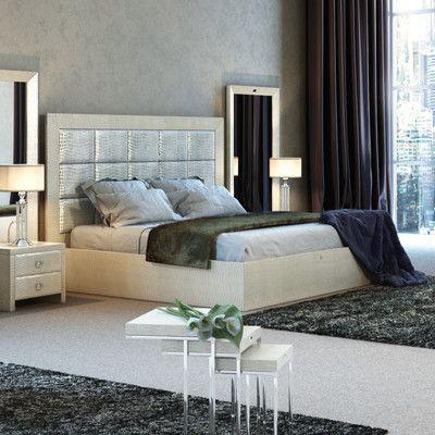 Willa Arlo Interiors Jolicia Upholstered Platform Bed Products
