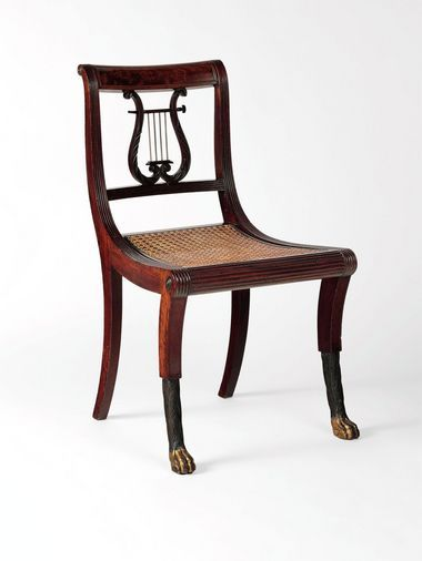 American Empire Chair Duncan Phyfe History Of Interiors Chair