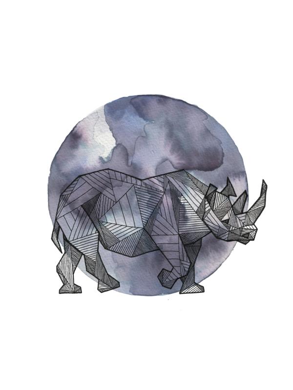 Geometric Animals by Allison Kunath, via Behance ...