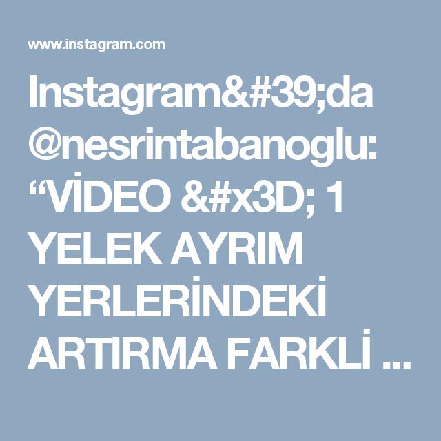"""Instagram'da @nesrintabanoglu: """"VİDEO = 1  YELEK AYRIM YERLERİNDEKİ  ARTIRMA FARKLİ BİR TEKNİK"""""""