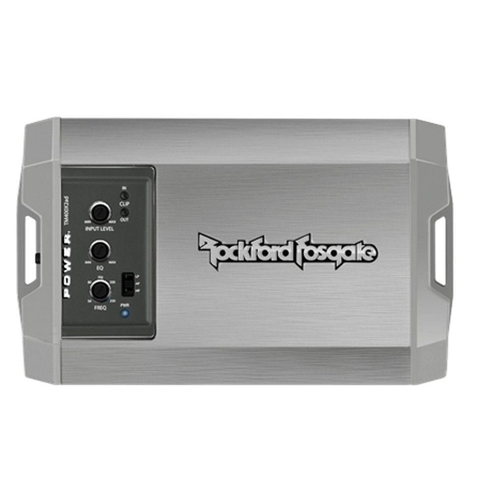 Rockford Fosgate T500X1br Power 500 Watt Class-BR Mono Amplifier