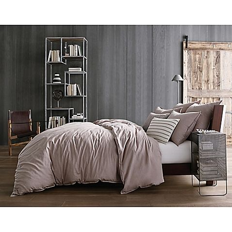 Kenneth Cole Reaction Home Mineral Full Queen Duvet Cover