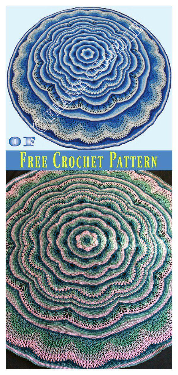 Tides Of Change Blanket Free Crochet Pattern Crochet Pinterest