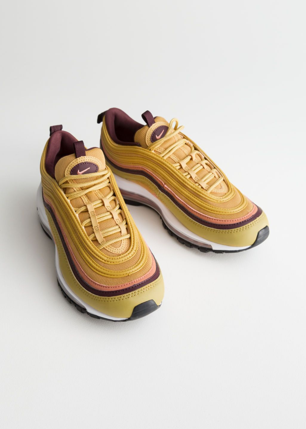quality design 87b87 037a3 Back image of Stories nike air max 97 lea in orange