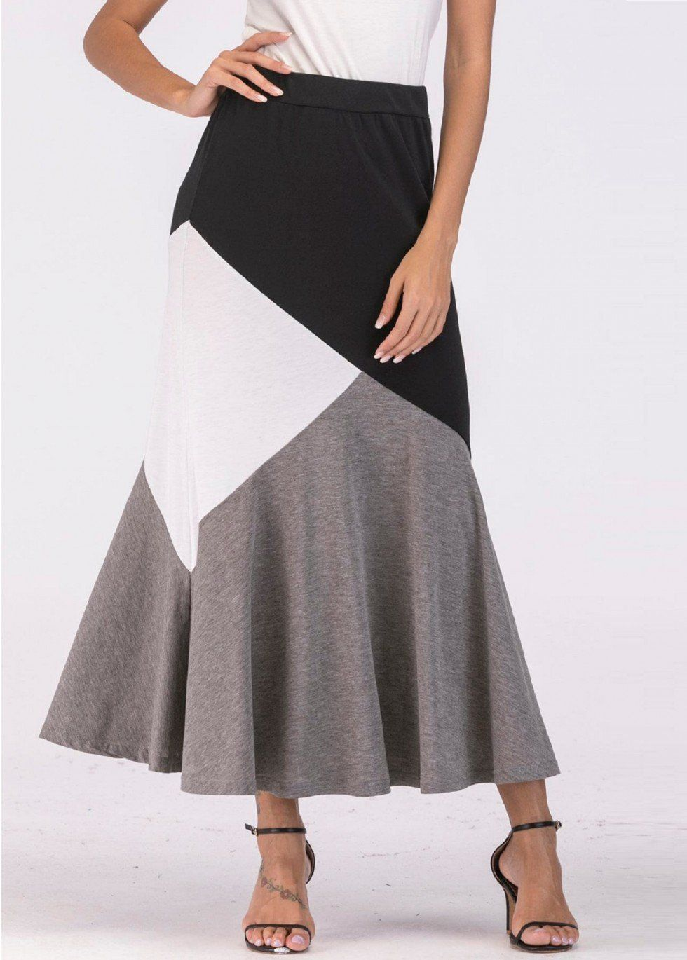 729cce128 Long Skirts With Shirt Online
