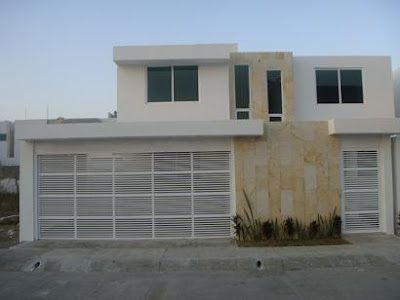 Fachadas de casas modernas fachada de casa moderna home for Casa mobile moderna
