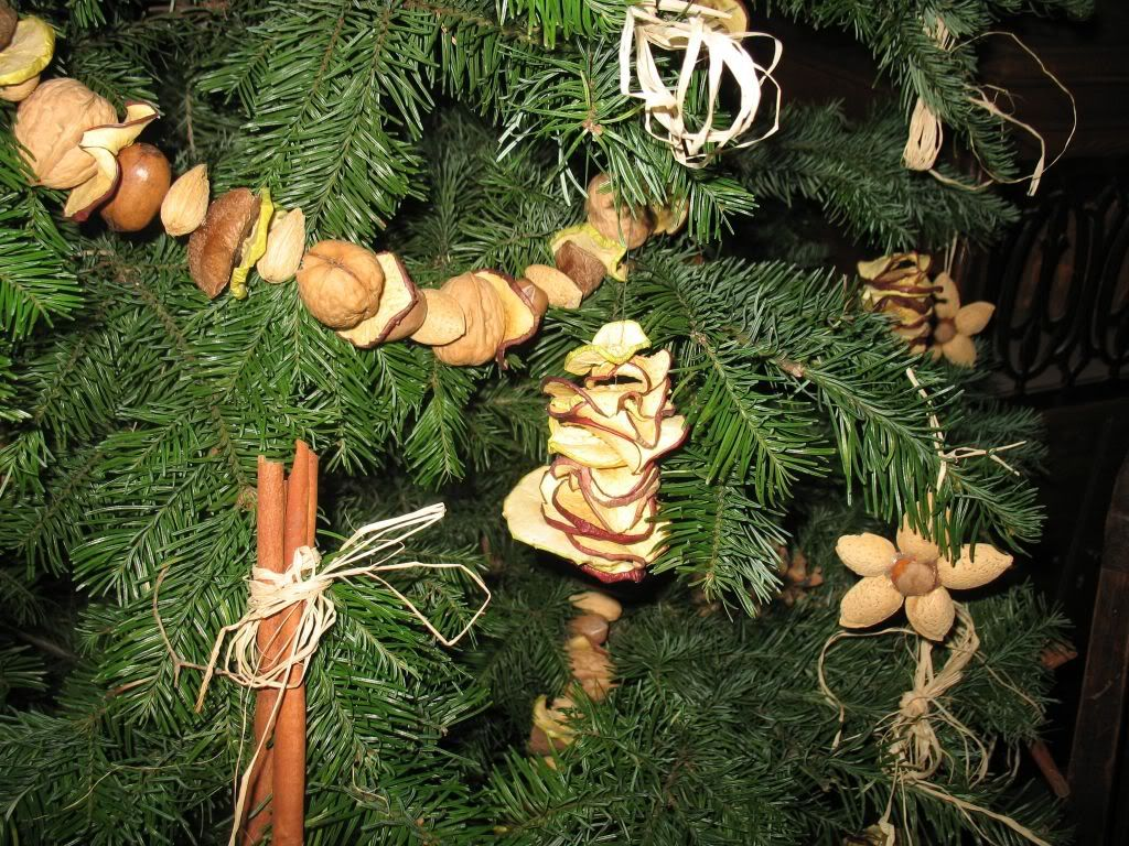 christmas trees decorated with metallic ornaments | The Lincoln Log ...