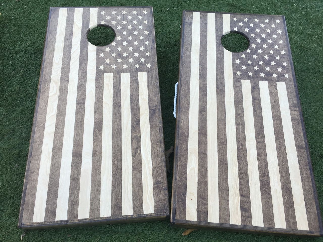Cornhole Bag Toss Set Of 8 4th Of July American Flag Cornhole Bags Handmade Fast Shipping!!