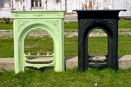 Cast Iron Fireplace Surround |Recycling the Past | Fireplace ...