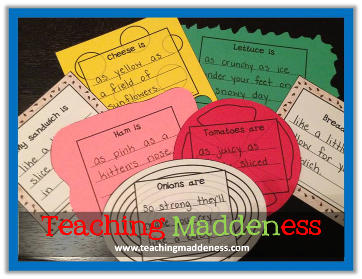Have I said how much I love teaching poetry? I may let my ELA block go a little long these days....just sayin'!   I'm linking this post up ...