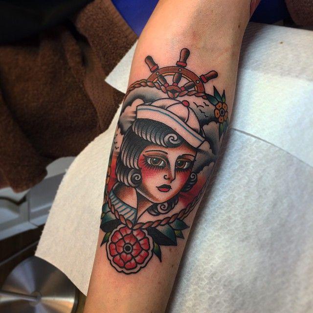 Thanx Marianne ! Done at @sevenseas_tattoos Eindhoven